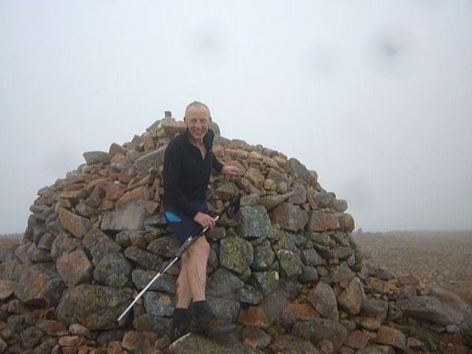 Mullach nan Coirean - last peak on a Clockwise Ramsay Round